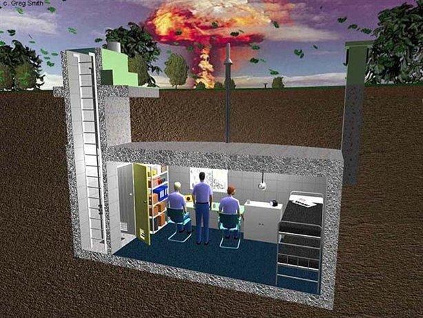 называется ядерный бункер.