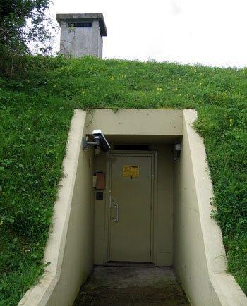 Схема подземного бункера